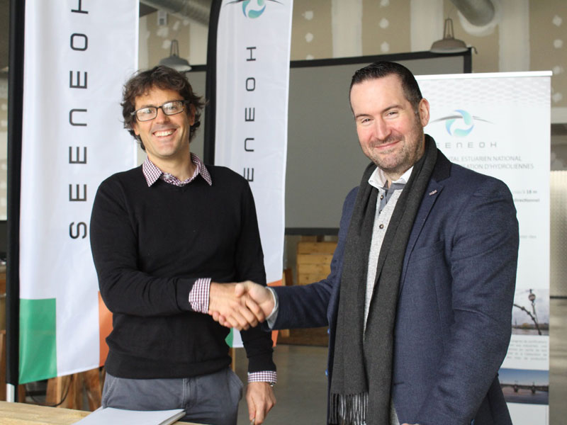 Seeneoh secured as test site for 25kw device