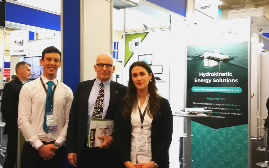DesignPro Renewables in Cape Town for African Utility Week 2018