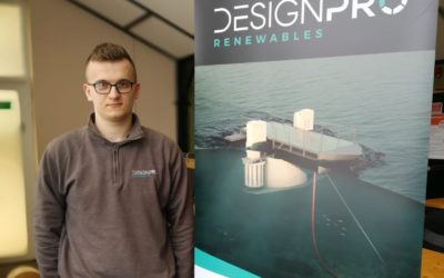 DesignPro welcome back placement student for the summer