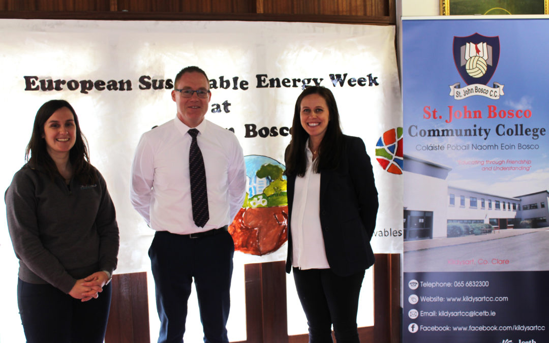 DesignPro Renewables host student Energy Day with St. John Bosco Community College as part of EU Sustainable Energy Week 2019